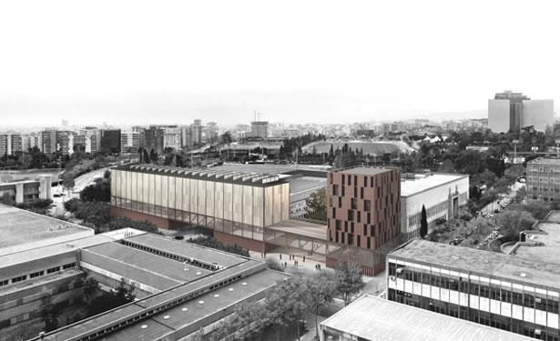Extension of the Faculty of Fine Arts, Barcelona